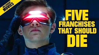 Video Five Movie Franchises That Should Die MP3, 3GP, MP4, WEBM, AVI, FLV Agustus 2018