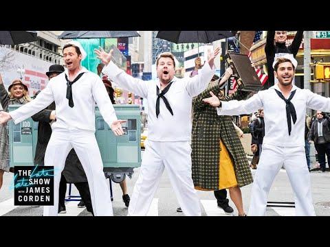 gratis download video - Crosswalk-the-Musical-on-Broadway-w-Hugh-Jackman-Zendaya--Zac-Efron
