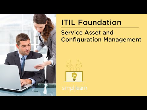 Simplilearn: Service Asset and Configuration Management | CMDB, CMS, SKMS | ITIL Certification Prep