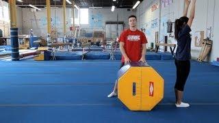How to Do a Back Handspring   Gymnastics Lessons