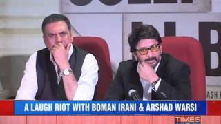 Boman-arshad Promote Their Upcoming