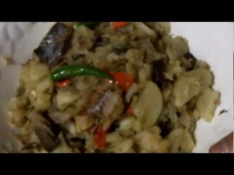 Caribbean Recipe: How to Make Fried Potatoes with Saltfish and Herring