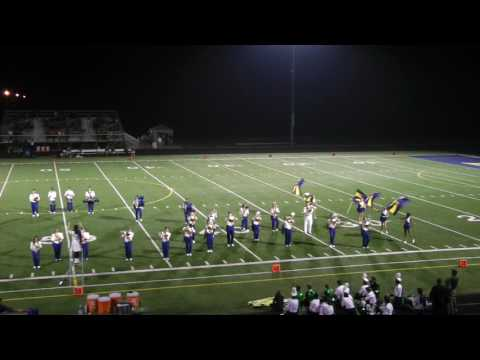 NDCL Band 2016 halftime week 5