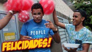 ¡Broma del Cumpleaños Falso a Desconocidos! (Tortazos/ Pastelazos en la cara) | Adolfo Lora
