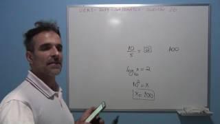 Professor octavio resolve a questão 26 de matemática do vestibular da UERJ 2017.