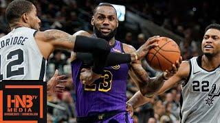 Los Angeles Lakers vs San Antonio Spurs Full Game Highlights | 12.07.2018, NBA Season