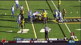 Alvin Dupree vs Missouri (2014)