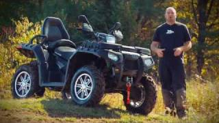 8. 2011 Polaris Sportsman Touring 850 LE