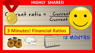 3 Minutes! Financial Ratios and Financial Ratio Analysis Explained (Quick Overview)