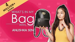 What's In My Bag With Anushka Sen   Exclusive   India Forums