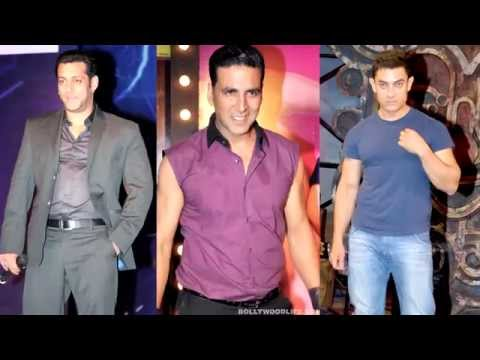 Salman Khan, Akshay Kumar and Aamir Khan hangout t