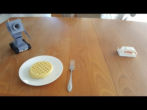 Guy Makes Real Life Butter Robot From Rick and