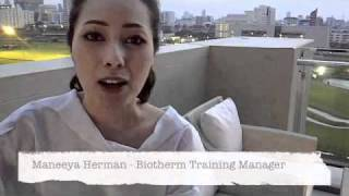 Interview Biotherm Training Manager