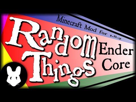 Minecraft mod Random Things: Ender Core Bit-by-Bit