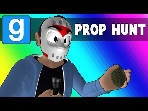 Gmod Prop Hunt Funny Moments - Trashing the Minecraft Kitchen (Garry's Mod) (видео)