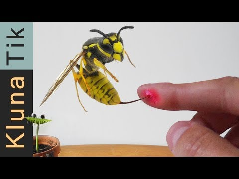 STUNG by a GIANT WASP  |#50 KLUNATIK COMPILATION    ASMR eating sounds no talk