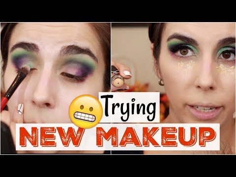 Trying New Makeup | Chit Chat GRWM | Blush Tribe, Milani, Laura Geller, Covergirl, Pixi| Katie Marie