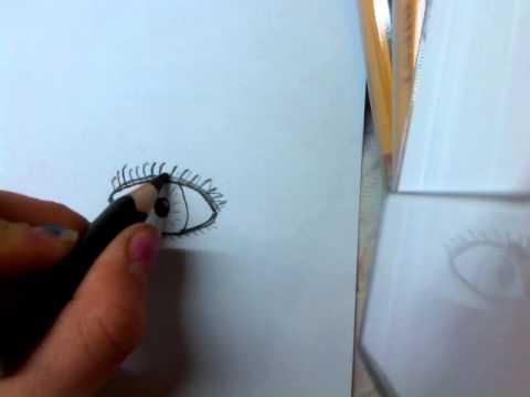 Augen zeichnen lernen (einfach)
