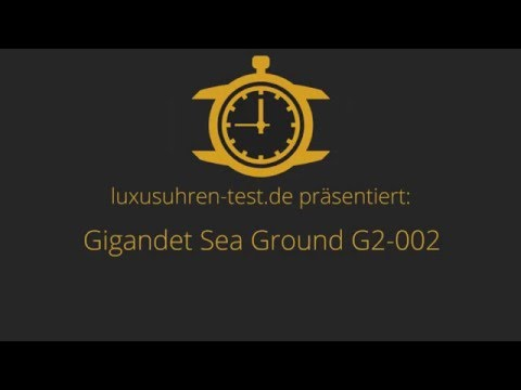 Gigandet Sea Ground G2-002 Testbericht