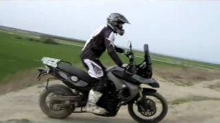 4. BMW F800 GS OFF ROAD