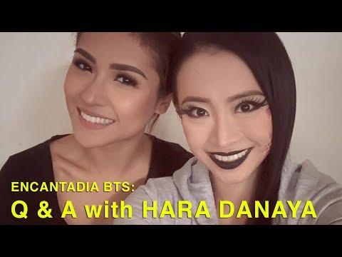 ENCANTADIA BTS:  Q &A  with HARA DANAYA