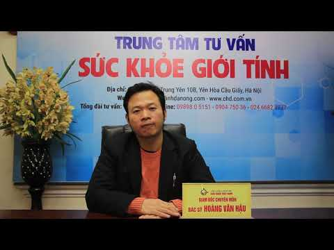 Bác sĩ Hoàng Văn Hậu, chuyên khoa nam học Bệnh viện Đại học Y Hà Nội nói về ED1000 tại buổi lễ