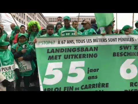 Βέλγιο: Απεργιακή κινητοποίηση κατά της συνταξιοδοτικής μεταρρύθμισης…