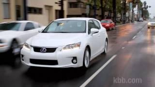 2011 Lexus CT 200h Video Review - Kelley Blue Book