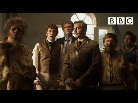 Horrible Histories for grownups! Can the ghosts scare Alison out of their haunted home? - BBC