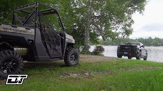 10. Polaris PRO HD 6000 Lb. Winch with Rapid Recovery Install & Overview