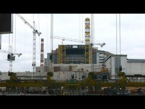 Νέα σαρκοφάγος για τον αντιδραστήρα 4 στο Τσέρνομπιλ