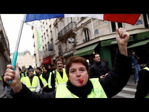 Γαλλία: Την 8η κινητοποίησή τους ετοιμάζουν τα Κίτρινα Γιλέκα…