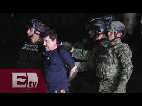 """PGR afina proceso de extradición de """"El Chapo"""" a EU"""