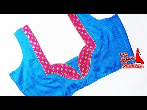 Video Easy Blouse Back Neck Design Cutting And Stitching download in MP3, 3GP, MP4, WEBM, AVI, FLV January 2017