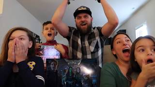 Marvel Studios Avengers: Infinity War Official Trailer REACTION!!!
