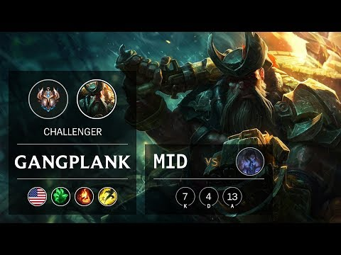 Gangplank Mid vs Sylas - NA Challenger Patch 9.22