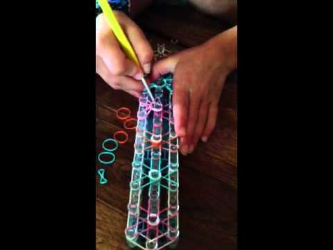 Rainbow Loom Starburst Tutorial