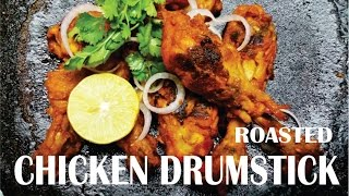 This video shows about making roasted chicken drumsticks. It is spicy and yummy.