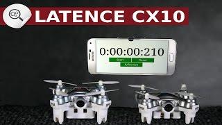 """La latence sur les mini drone. Voici un test de latence des CX10, CX10W, CX10WD.Clique ici pour t'abonner ► https://goo.gl/PkIcj8 (merci)►Vous pouvez trouver le CX-10WD ici : http://bit.ly/CX-10WD_BanggoodEt voici une Vidéo du CX-10WD ici :https://www.youtube.com/watch?v=FkdAS0HIuWI►Vous pouvez trouver le CX-10W ici : http://bit.ly/cx10w8BanggoodEt Voici une vidéo du CX-10W ici : https://www.youtube.com/watch?v=WbsfpjTFvLU►Vous pouvez trouver le QX90 ici : http://bit.ly/QX90-Eachine-BanggoodEt Voici une vidéo du CX-10W ici : https://www.youtube.com/watch?v=X5pQHz7wGTQDans cette vidéo j'ai décidé de vous parler de la latence des cx10w et cx10wd.La latence c'est quoi ?La latence c'est le délai ou retard de transmission. C'est aussi appelé """"lag"""" en informatique  .En claire c'est le temps nécessaire pour passer de la source """"émetteur"""" à la destination ici le téléphone.Si la latence est trop importante les images que vous allez voir sur le téléphone seront des images du passé. Et ce n'est vraiment pas une bonne chose en fpv.Voici une vidéo qui mesure le temps de latence des cx10w et cx10wd.Pour comparer avec un vrais récepteur fpv avec le qx90 par exemple.Le qx90 à une la latence de 0 second Bien sur ce n'est pas exactement si vous faites pose vous ferre quelque millième de second de différence..Ce qui est beaucoup plus acceptable pour un drone FPV.Abonnez-vous ► https://goo.gl/PkIcj8 (merci)"""