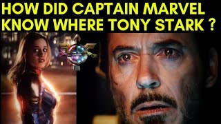 Video HOW DID CAPTAIN MARVEL KNOW WHERE TONY STARK WAS IN SPACE? MP3, 3GP, MP4, WEBM, AVI, FLV Mei 2019