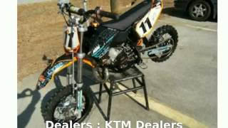 9. 2010 KTM SX 50 - Specs, Specification