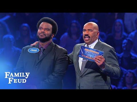 Craig Robinson KILLS Fast Money! | Celebrity Family Feud - Thời lượng: 4 phút, 30 giây.