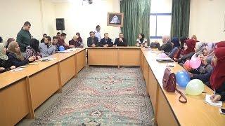محاضرة لطلبة جامعة القدس المفتوحة حول مكافحة المخدرات