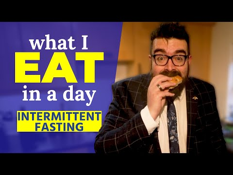 WHAT I EAT IN A DAY TO LOSE WEIGHT | Intermittent Fasting