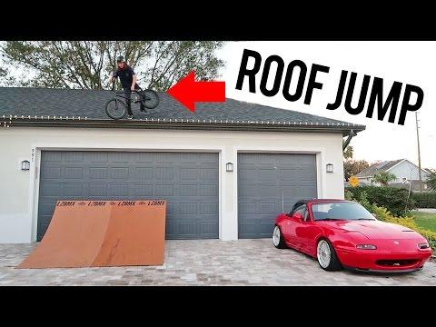 BMX CAVEMAN OFF MY ROOF (видео)