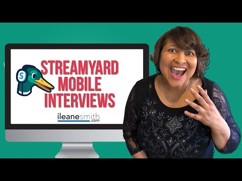 Watch 'How to Use Streamyard to Interview Guests on Mobile '