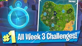 Fortnite SEASON 6 WEEK 3 Challenges Guide (Timed Trial Locations)