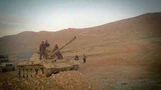 الجيش الحر يوقف تقدم المليشيات الايرانية في القلمون الشرقي و ريف السويداء