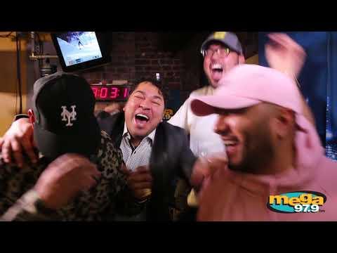 """""""Un Corito Sano"""" en los estudios de La Mega con Daddy Yankee"""