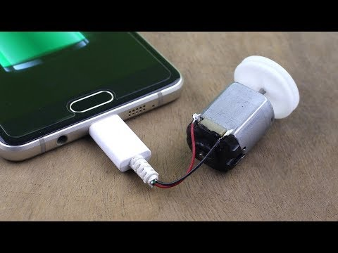 How To Make Free Energy Mobile Phone Charger